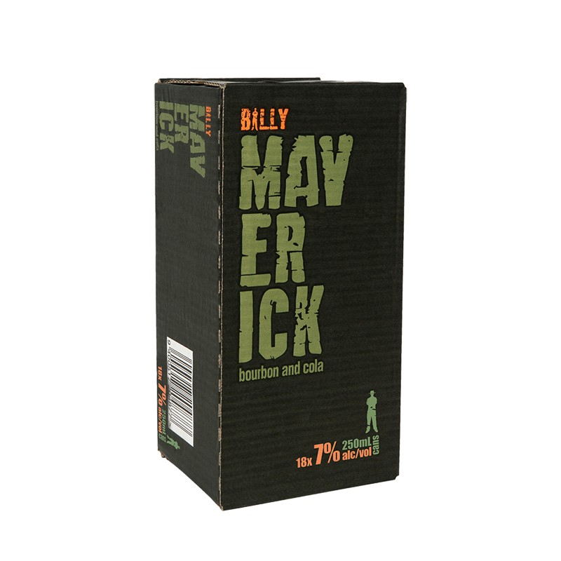 BILLY MAVERICK 7% 18PK CANS BILLY MAV 7% 18pk can