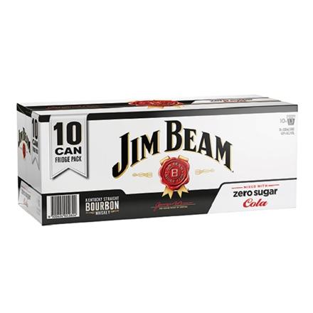 jim beam zero 10pk cans jim beam zero 10pk cans