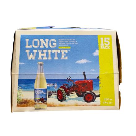 Long White Lemon & Lime 15PK Bottles Long White Lemon & Lime 15PK Bottles