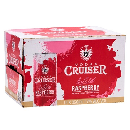 CRUISER RASPBERRY 12PK CANS CRUISER RASBERRY