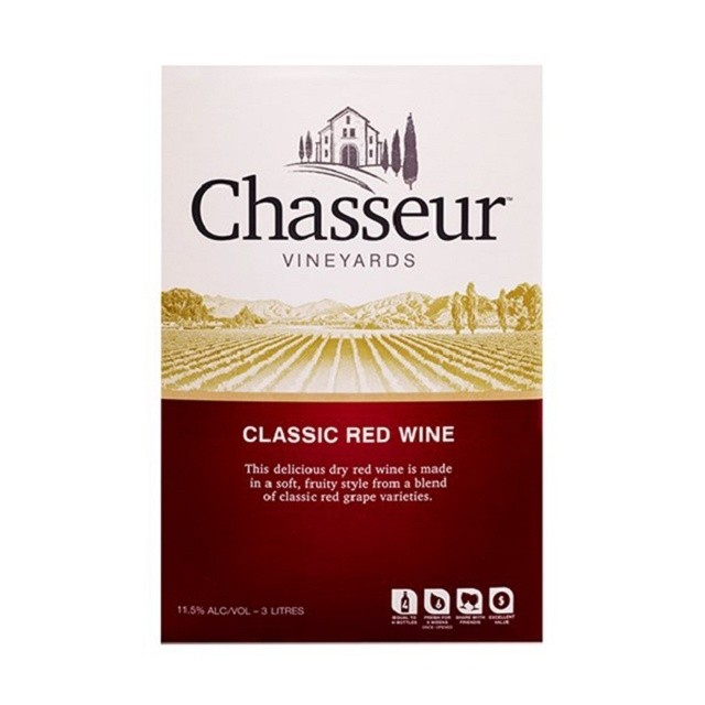 CHASSEUR RED 3L CHASSEUR RED 3L