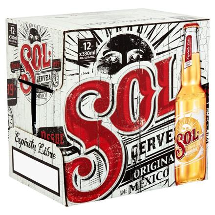 SOL 12 Pk Bottles Sol12pk