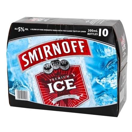 Smirnoff RED10PK BTLS SMV RED10 PK BTL