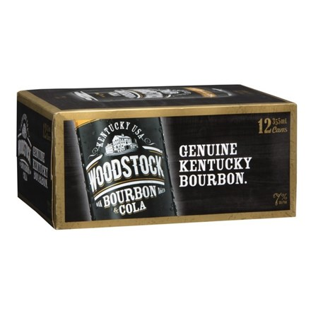 WOODSTOCK 7% 12PK 250ML CANS WOODSTOCK 7% 12PK 250ML CANS