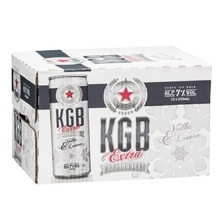 KGB 7% 12PK 250ML CANS KGB 7% 12PK 250ML CANS