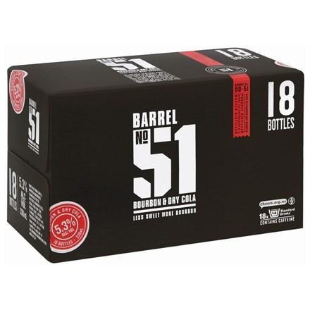 BARREL 51 18PK BTL BARREL 51 18 PK BTL